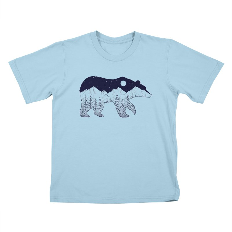 Ursa Major Kids T-Shirt by northernfin's Artist Shop