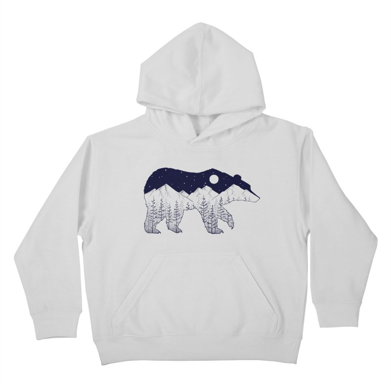 Ursa Major Kids Pullover Hoody by northernfin's Artist Shop