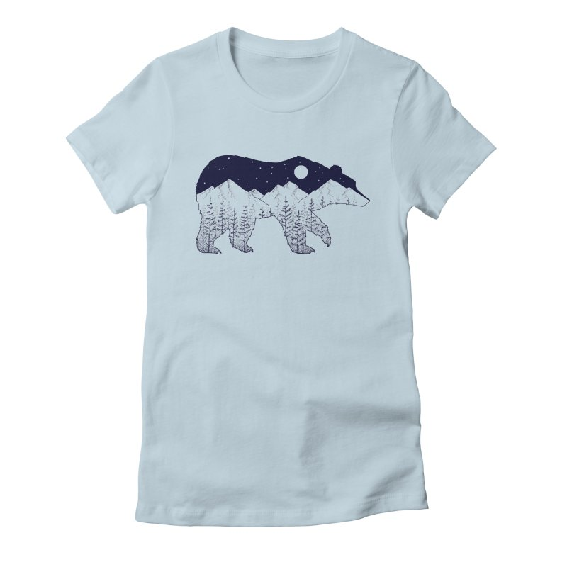 Ursa Major Women's Fitted T-Shirt by northernfin's Artist Shop