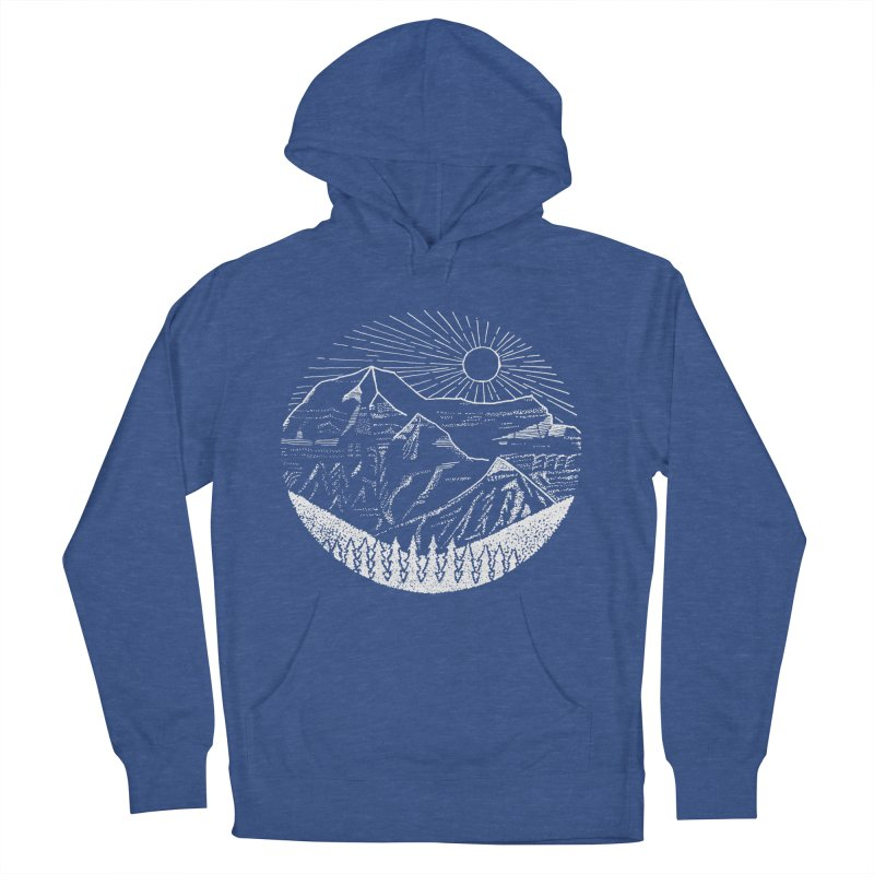 Mount Robson Women's French Terry Pullover Hoody by northernfin's Artist Shop