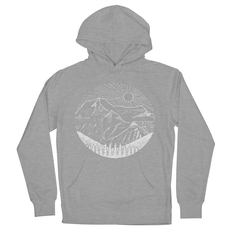 Mount Robson Men's French Terry Pullover Hoody by northernfin's Artist Shop