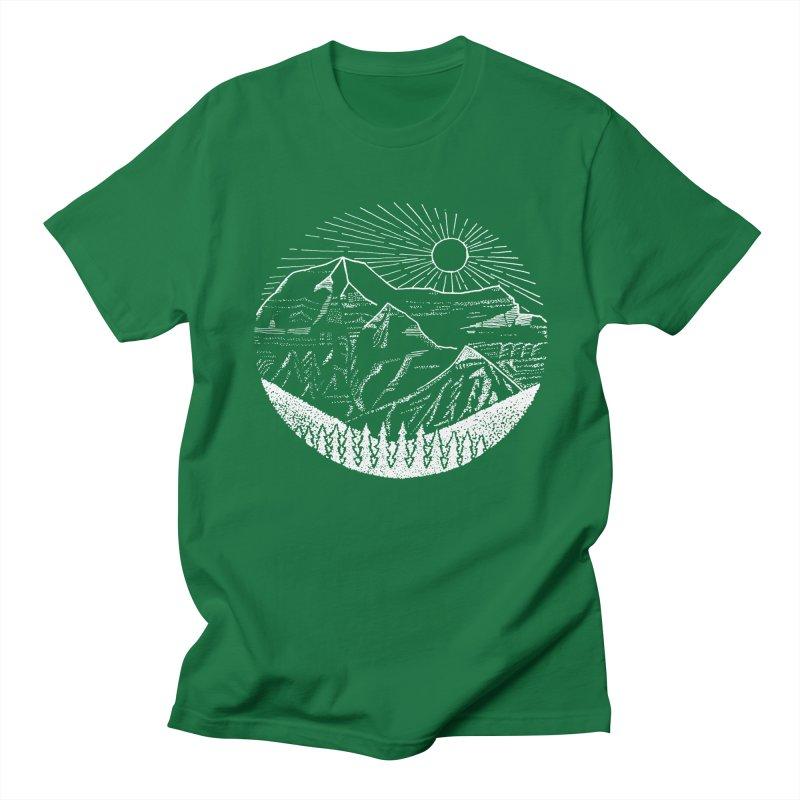 Mount Robson Men's Regular T-Shirt by northernfin's Artist Shop