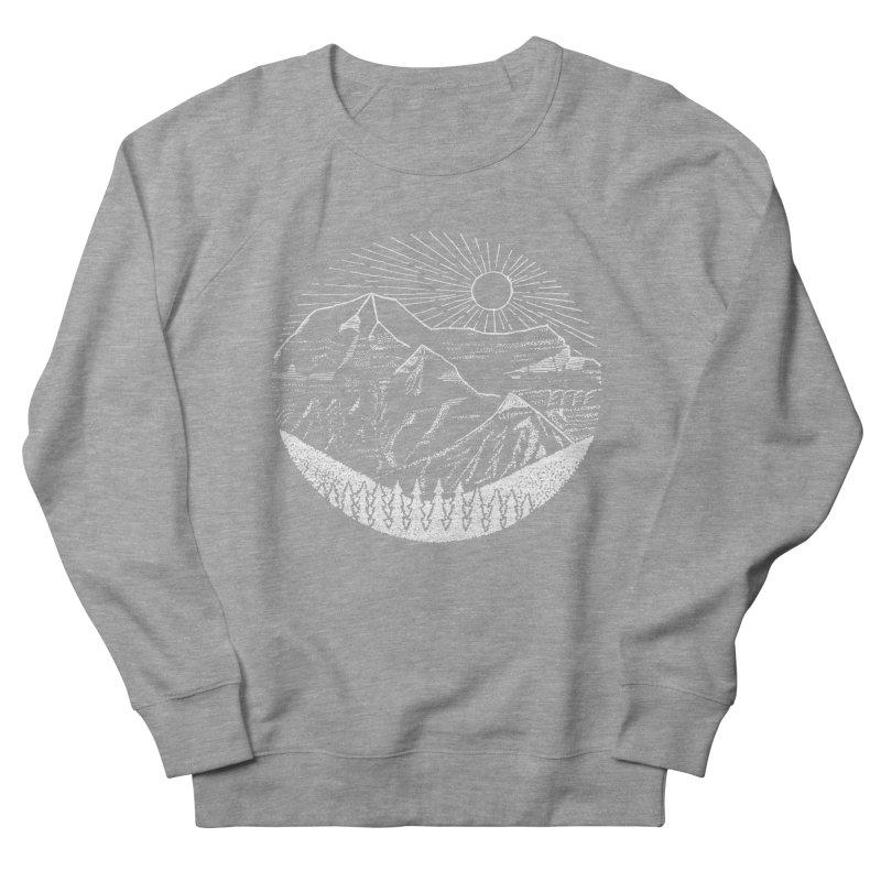 Mount Robson Men's Sweatshirt by northernfin's Artist Shop