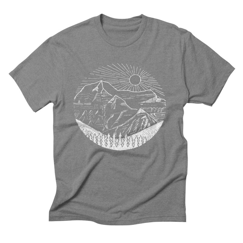 Mount Robson Men's Triblend T-Shirt by northernfin's Artist Shop
