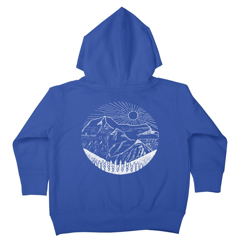 Mount Robson Kids Toddler Zip-Up Hoody by northernfin's Artist Shop