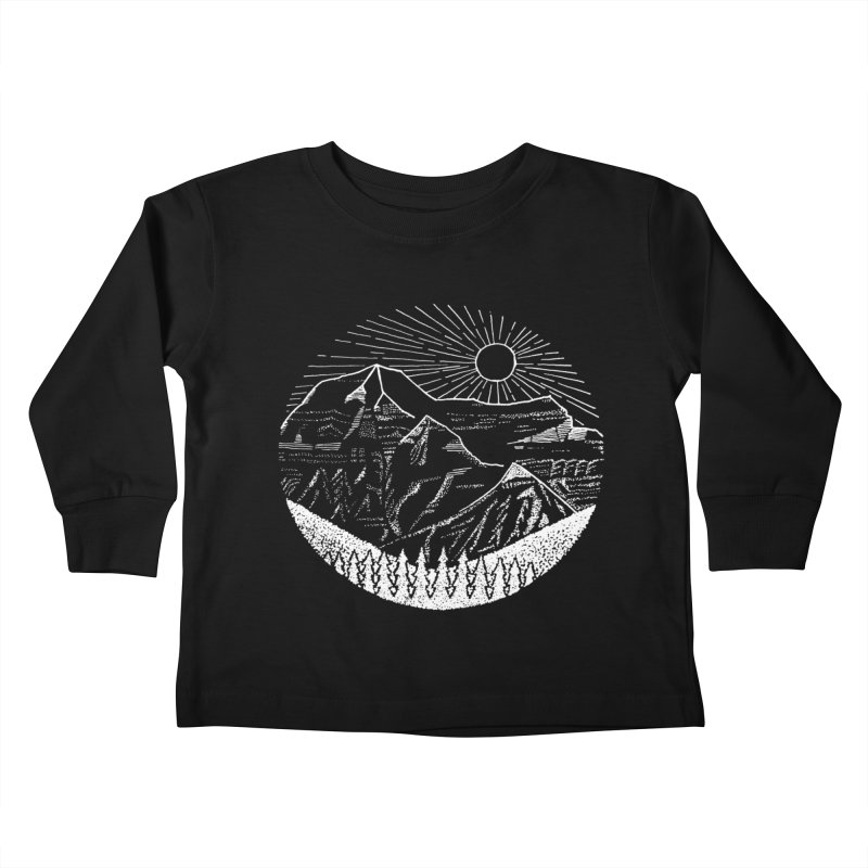 Mount Robson Kids Toddler Longsleeve T-Shirt by northernfin's Artist Shop