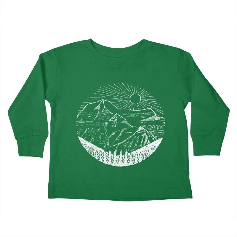 Mount Robson Kids Toddler Longsleeve T-Shirt by northernfin's Artist Shop