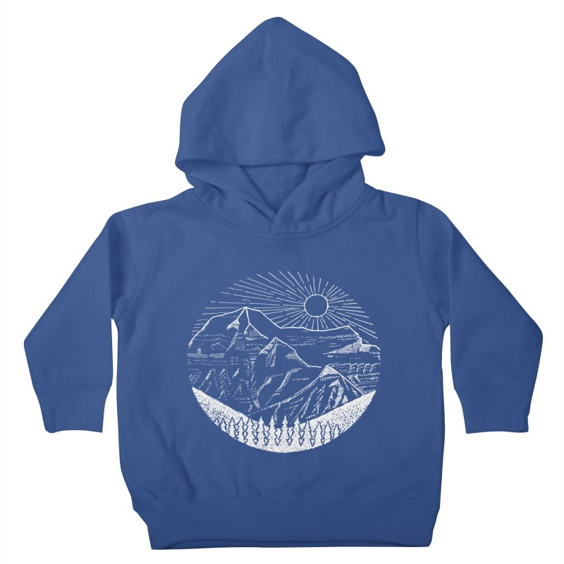 Mount Robson Kids Toddler Pullover Hoody by northernfin's Artist Shop