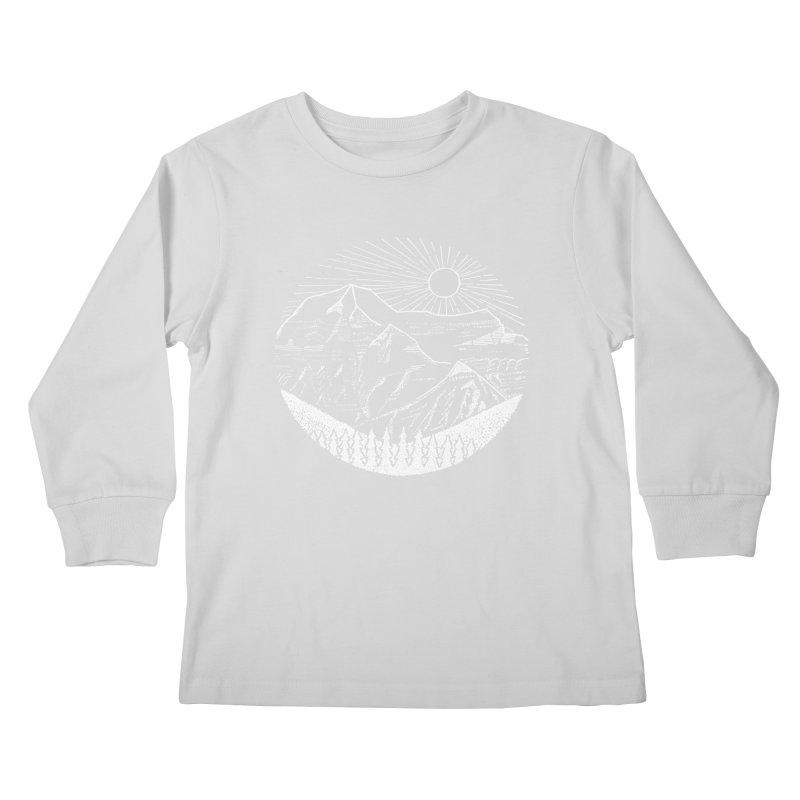 Mount Robson Kids Longsleeve T-Shirt by northernfin's Artist Shop