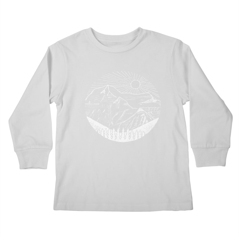 Mount Robson Kids Longsleeve T-Shirt by northernfin's Artist Shop