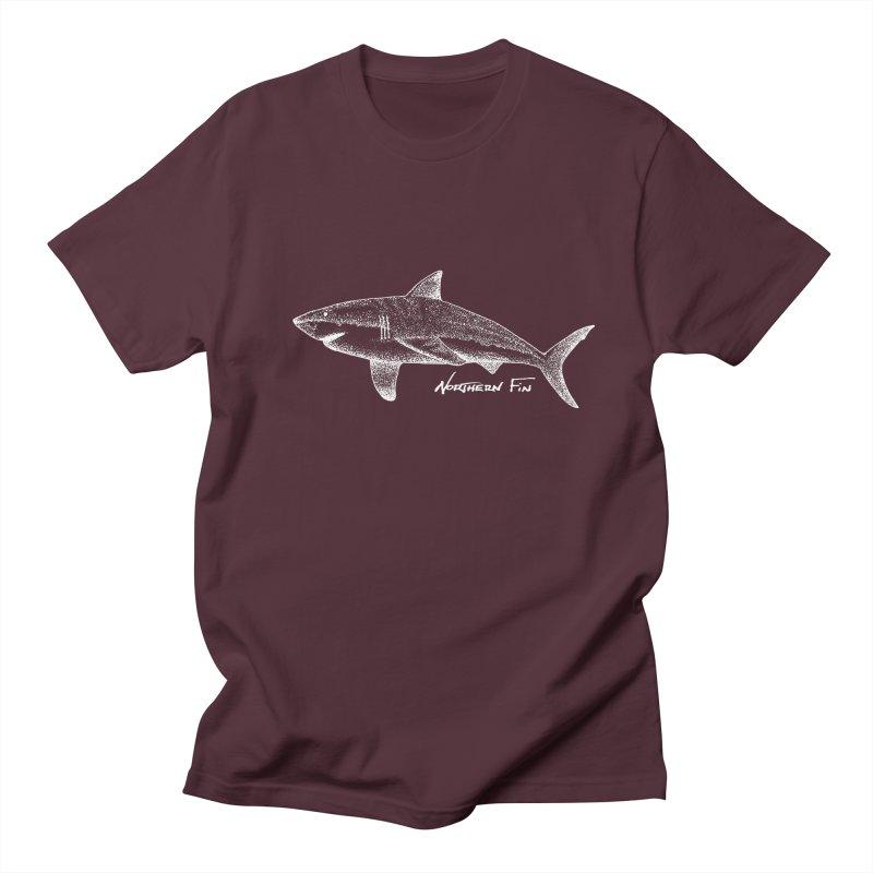 Shark Men's Regular T-Shirt by northernfin's Artist Shop