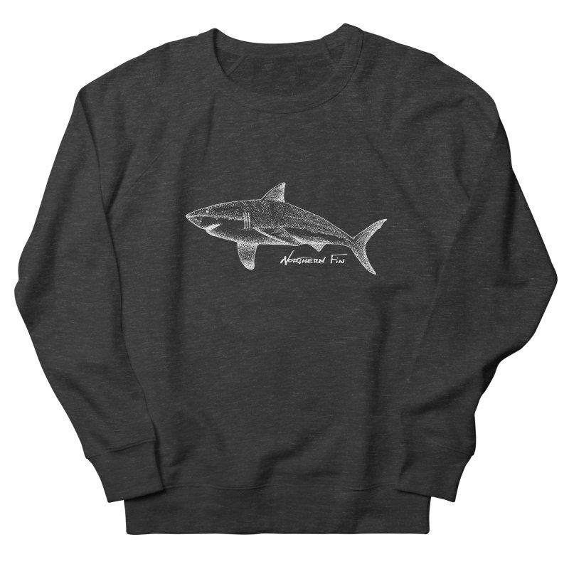 Shark Women's French Terry Sweatshirt by northernfin's Artist Shop