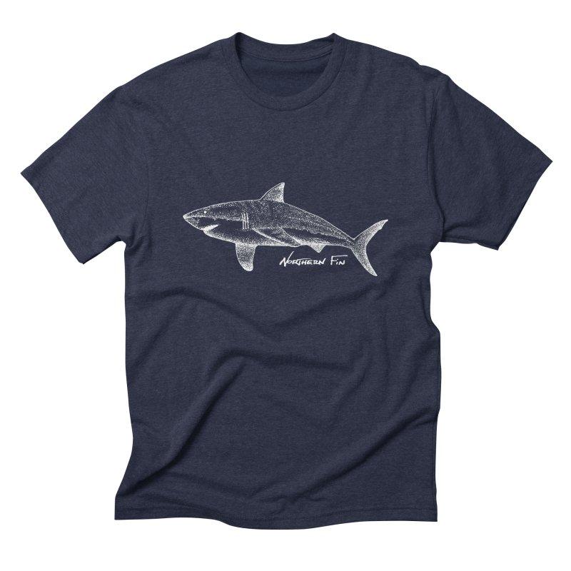Shark Men's Triblend T-Shirt by northernfin's Artist Shop