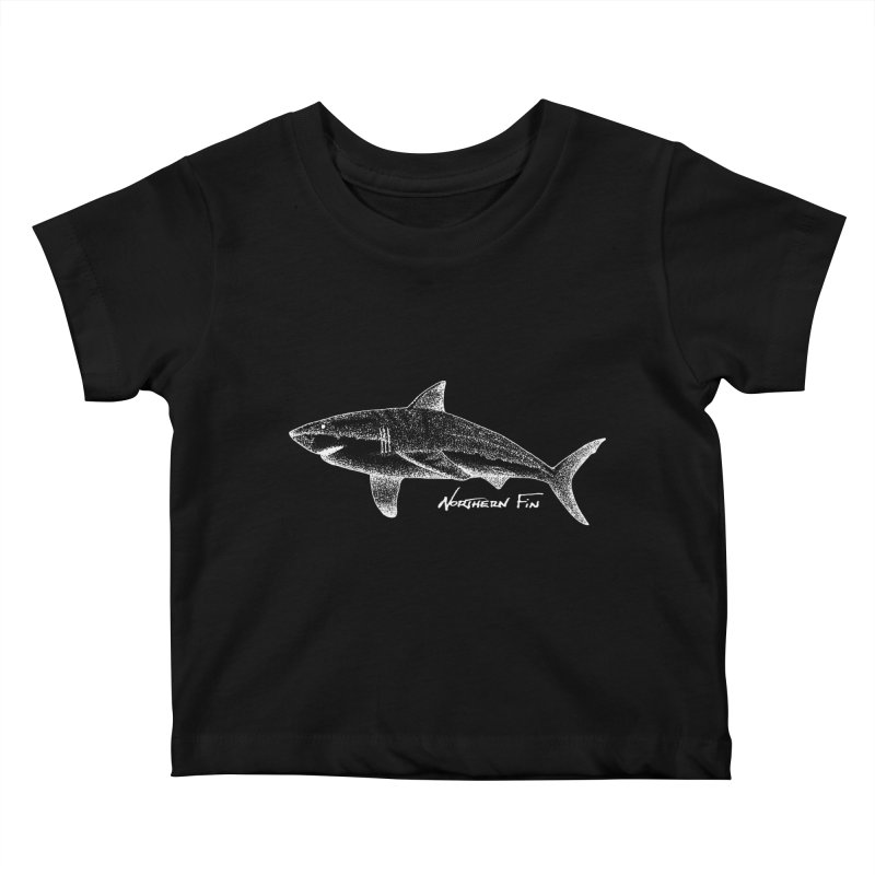 Shark Kids Baby T-Shirt by northernfin's Artist Shop