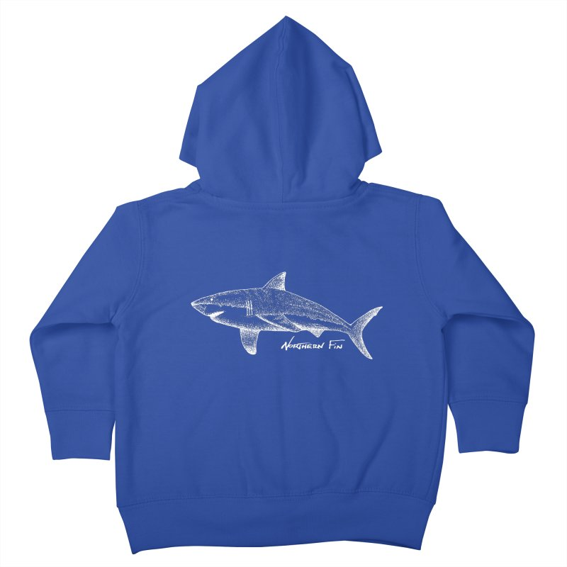 Shark Kids Toddler Zip-Up Hoody by northernfin's Artist Shop