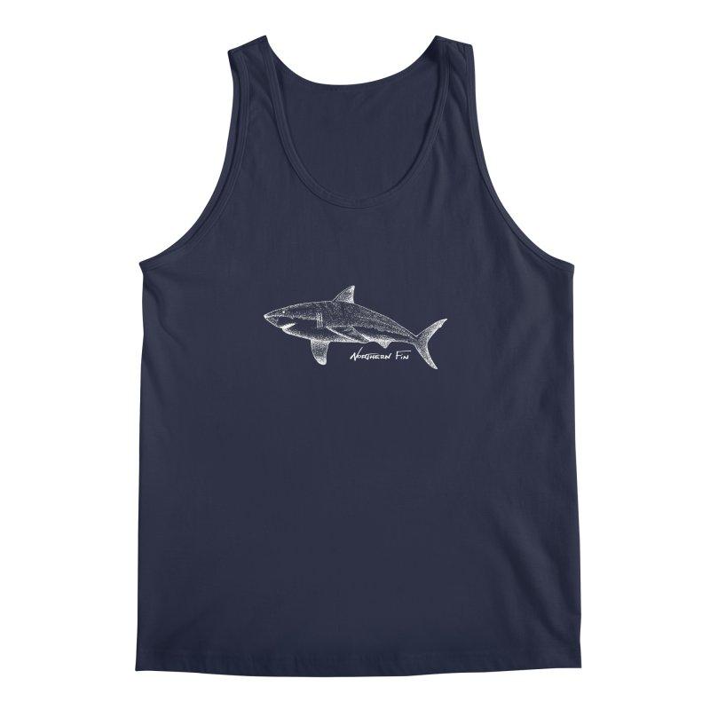 Shark Men's Regular Tank by northernfin's Artist Shop