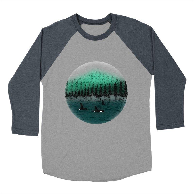 Orcas Men's Baseball Triblend Longsleeve T-Shirt by northernfin's Artist Shop