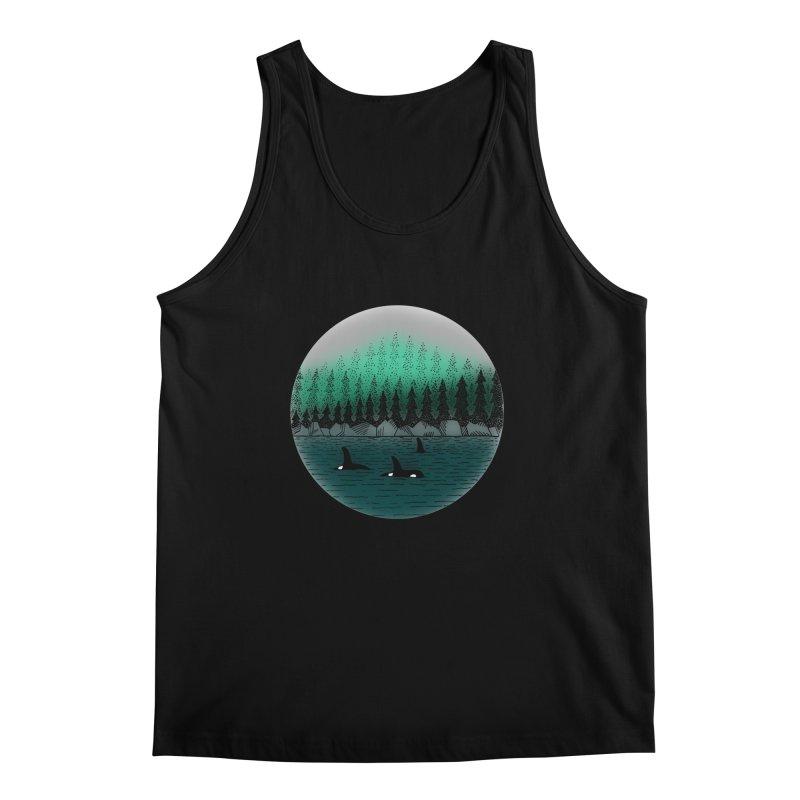 Orcas Men's Regular Tank by northernfin's Artist Shop