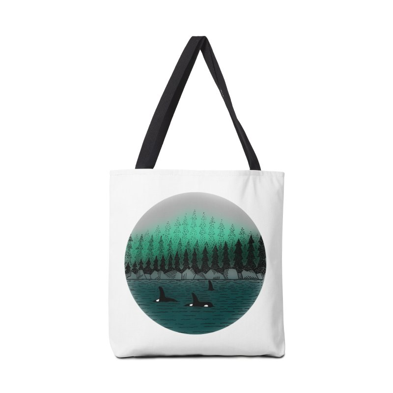 Orcas Accessories Bag by northernfin's Artist Shop