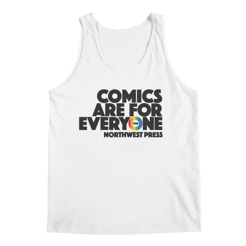 Comics are for Everyone (black lettering) Men's Regular Tank by The Northwest Press Shop
