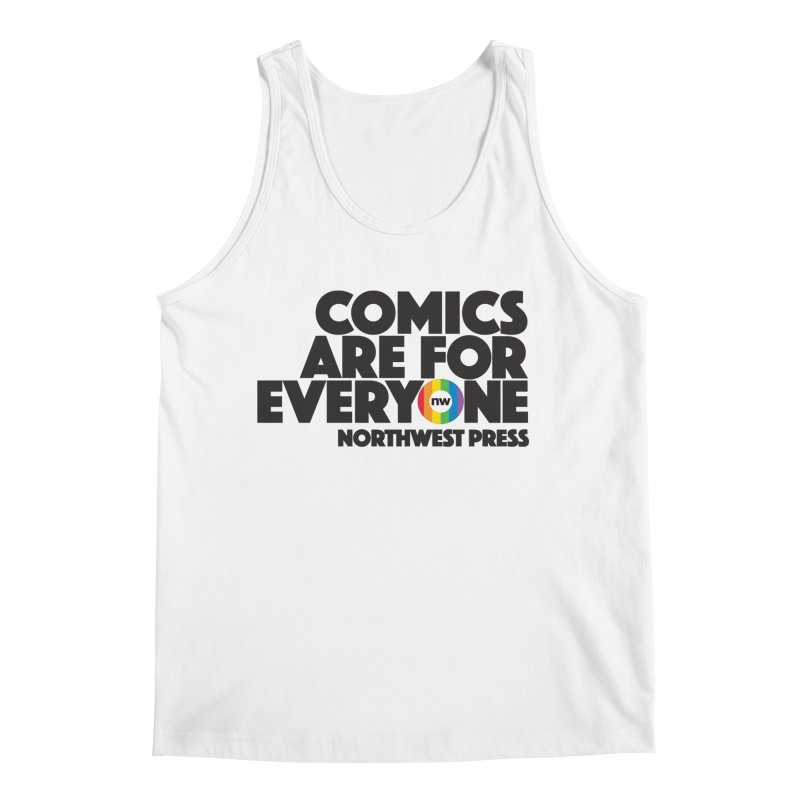 Comics are for Everyone (black lettering) Men's Tank by The Northwest Press Shop