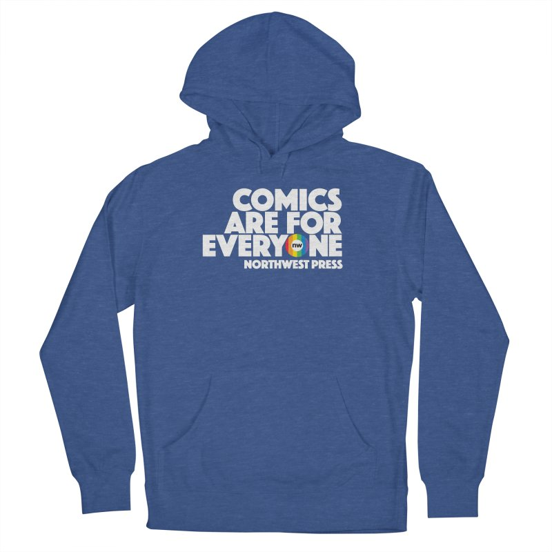 Comics are for Everyone (white lettering) Men's Pullover Hoody by The Northwest Press Shop