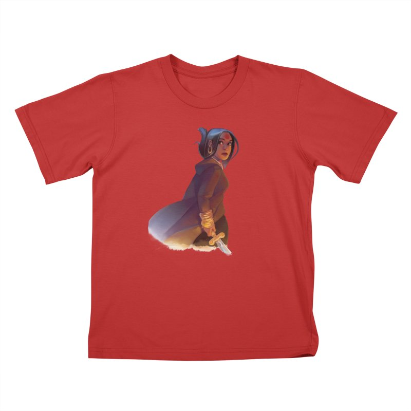 Bold Riley Kids T-Shirt by The Northwest Press Shop