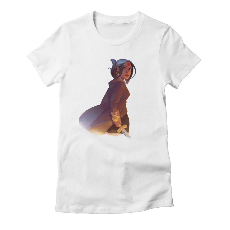 Bold Riley Women's Fitted T-Shirt by The Northwest Press Shop