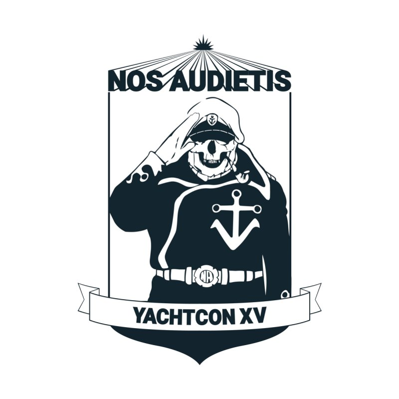 YachtConXV Shirt (2015) by Nos Audietis Merch Table