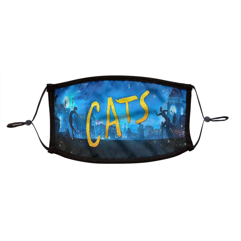 Cats Face Mask Accessories Face Mask by Austin's Artist Shop