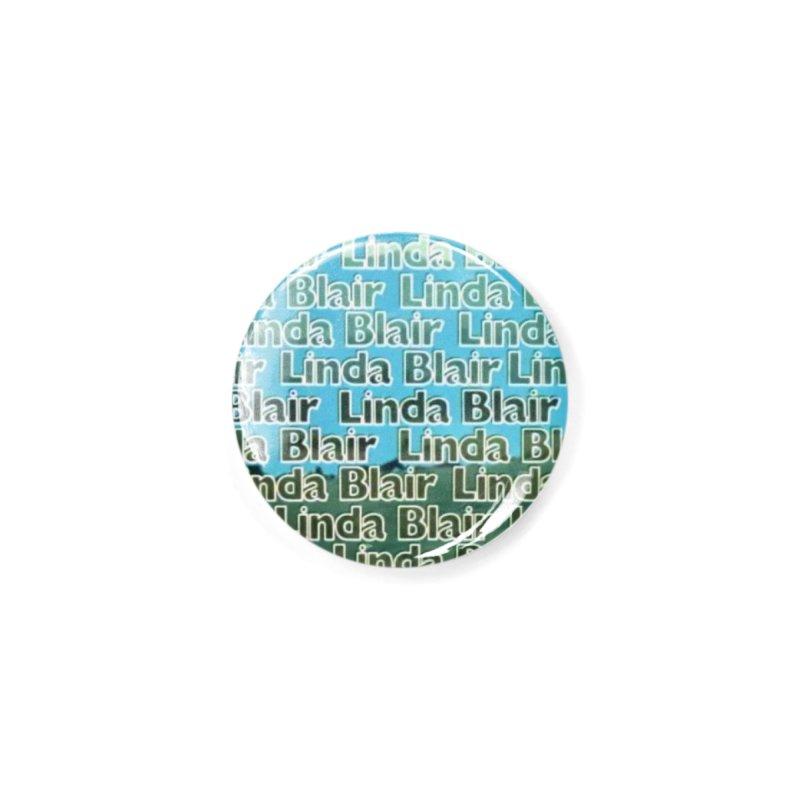 Linda Blair Pattern Design-Buttons & More Accessories Button by Austin's Artist Shop