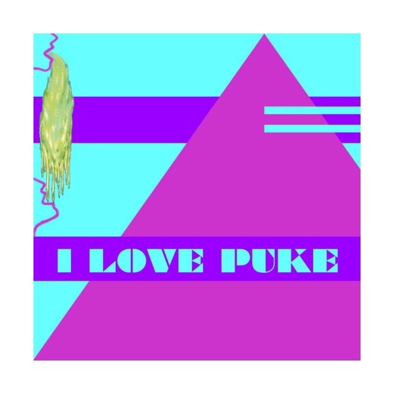 I Love Puke Women's T-Shirt by Austin's Artist Shop