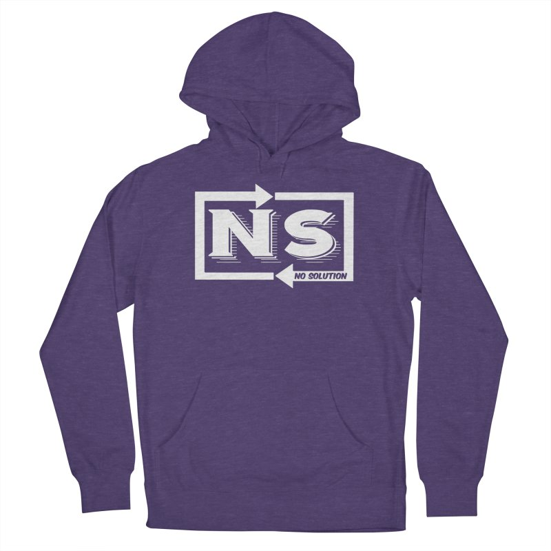 No Solution Logo Women's French Terry Pullover Hoody by nosolution's Artist Shop