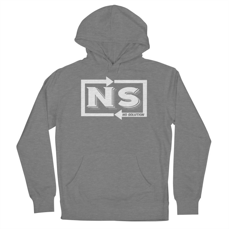 No Solution Logo Women's Pullover Hoody by nosolution's Artist Shop
