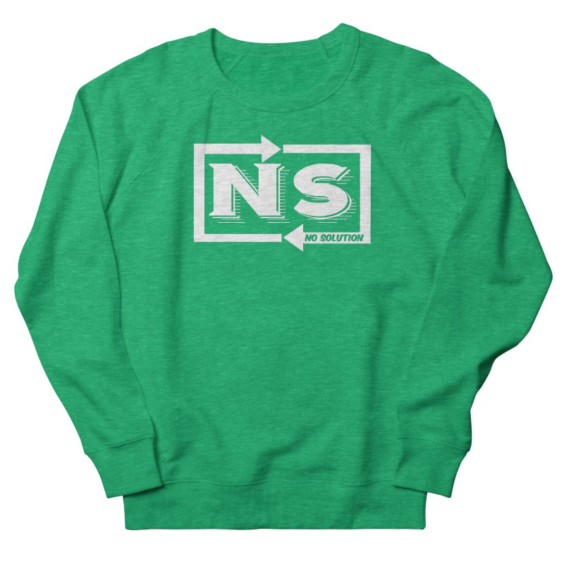 No Solution Logo Women's Sweatshirt by nosolution's Artist Shop