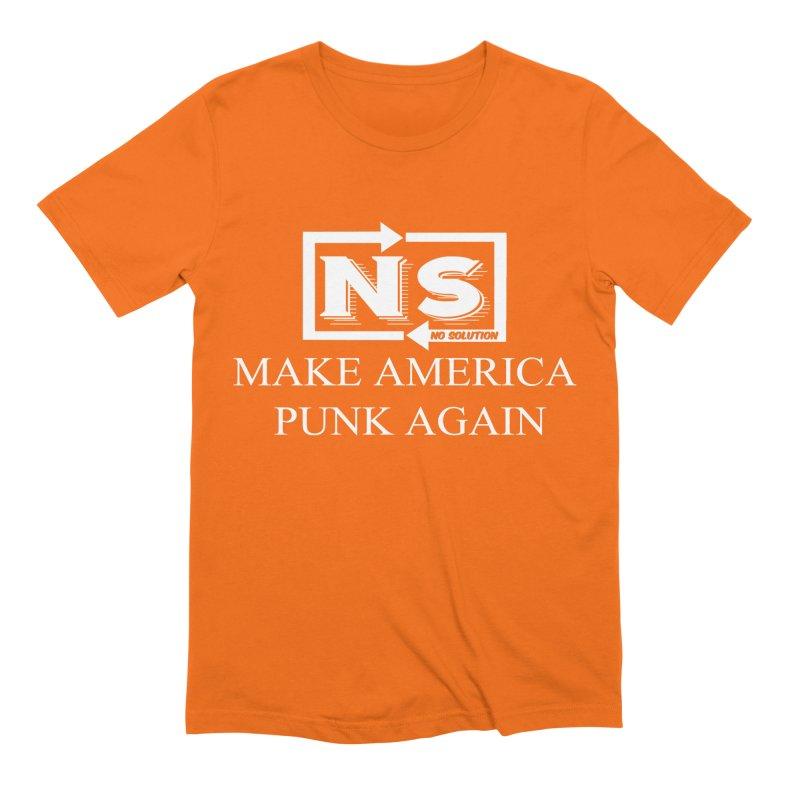 Make America Punk Again Men's Extra Soft T-Shirt by nosolution's Artist Shop