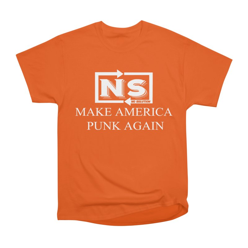 Make America Punk Again Men's T-Shirt by nosolution's Artist Shop
