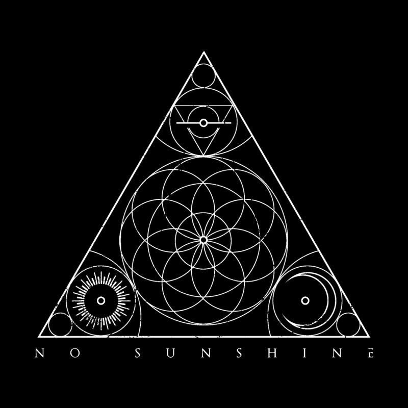 No Sunshine Pyramid Home Fine Art Print by Official No Sunshine Merchandise