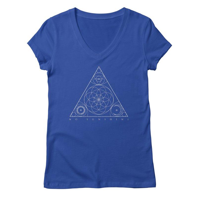 No Sunshine Pyramid Women's Regular V-Neck by Official No Sunshine Merchandise