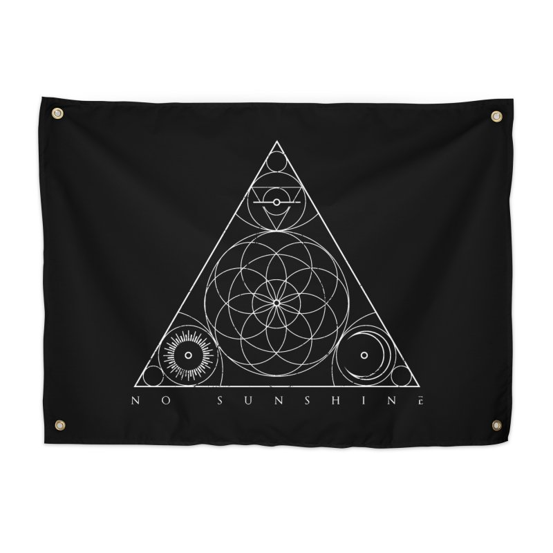 No Sunshine Pyramid Home Tapestry by Official No Sunshine Merchandise