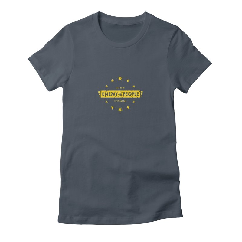 Enemy of the People Women's Fitted T-Shirt by notacreative's Artist Shop