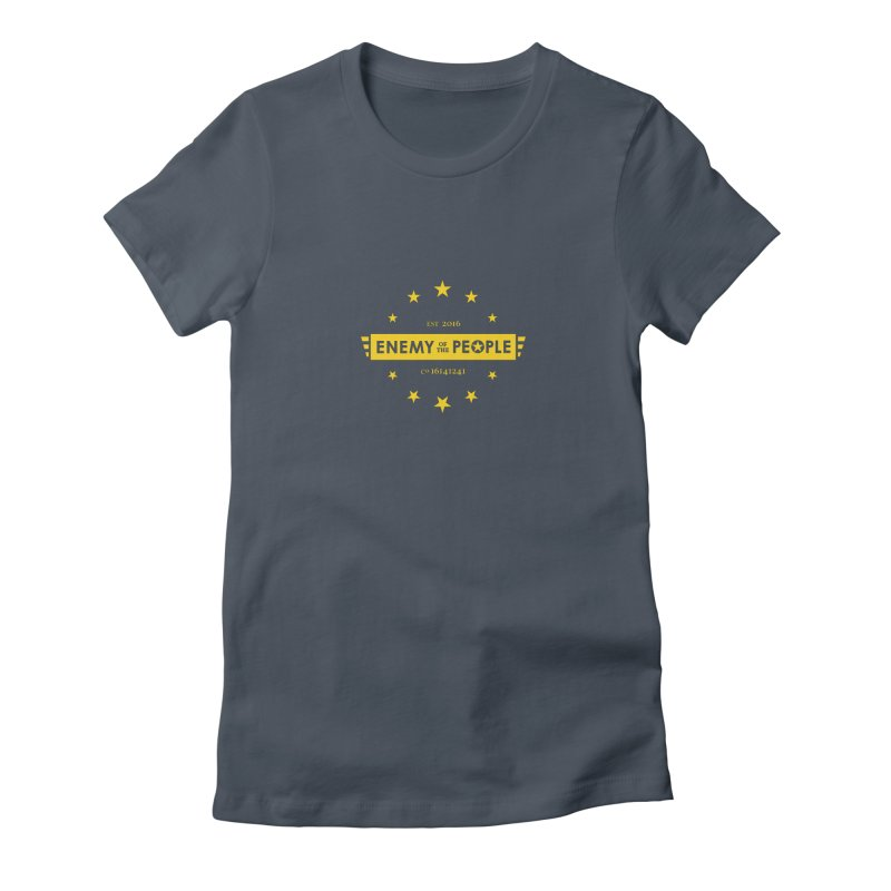 Enemy of the People II Women's Fitted T-Shirt by notacreative's Artist Shop