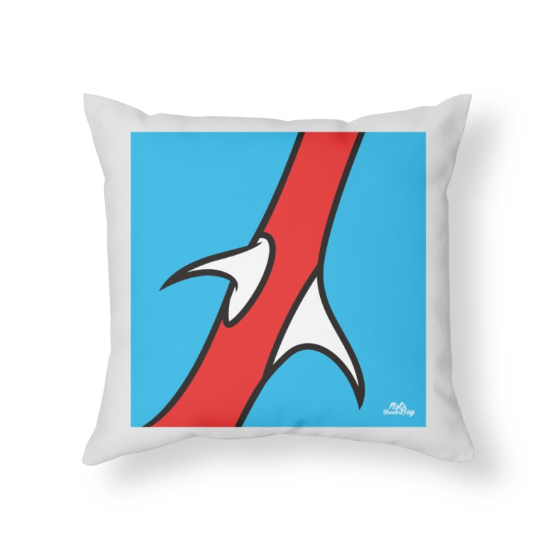 SPINE Home Throw Pillow by Notawonderboy!