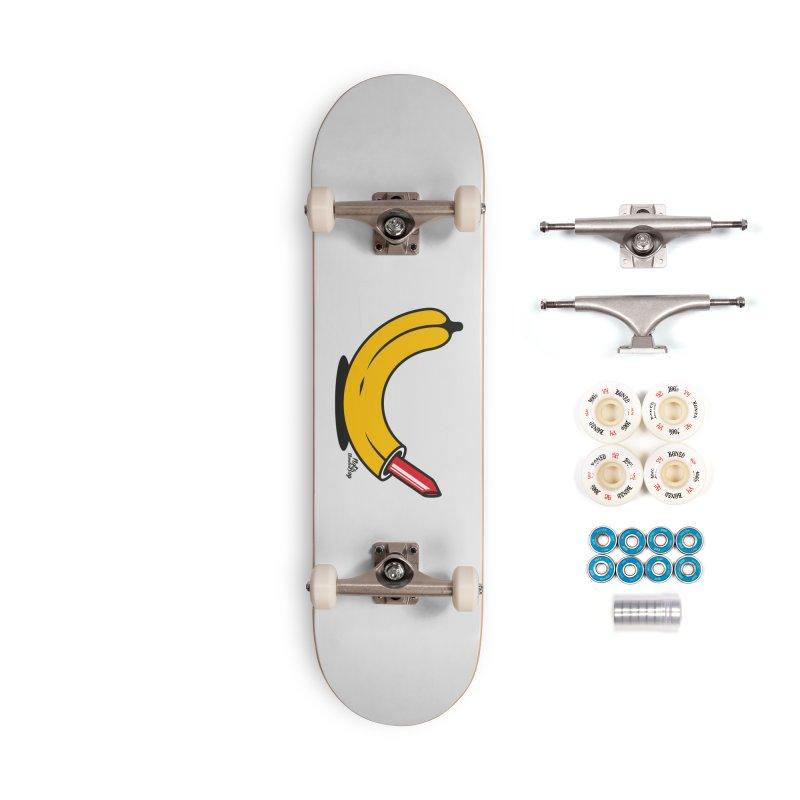 BANANA Accessories Skateboard by Notawonderboy!