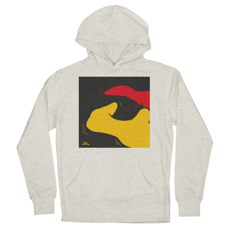 BODY Men's French Terry Pullover Hoody by Notawonderboy!