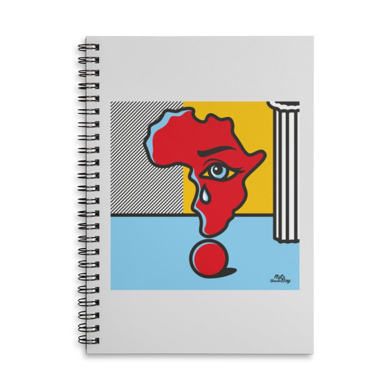 GIRL WITH TEARS XVIII Accessories Notebook by Notawonderboy!