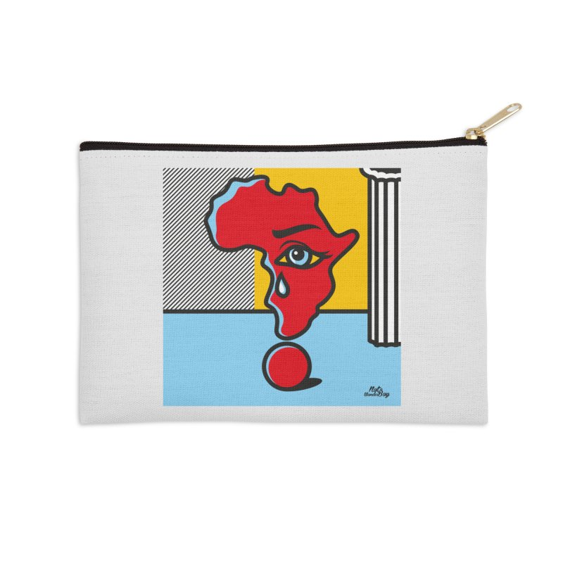 GIRL WITH TEARS XVIII Accessories Zip Pouch by Notawonderboy!