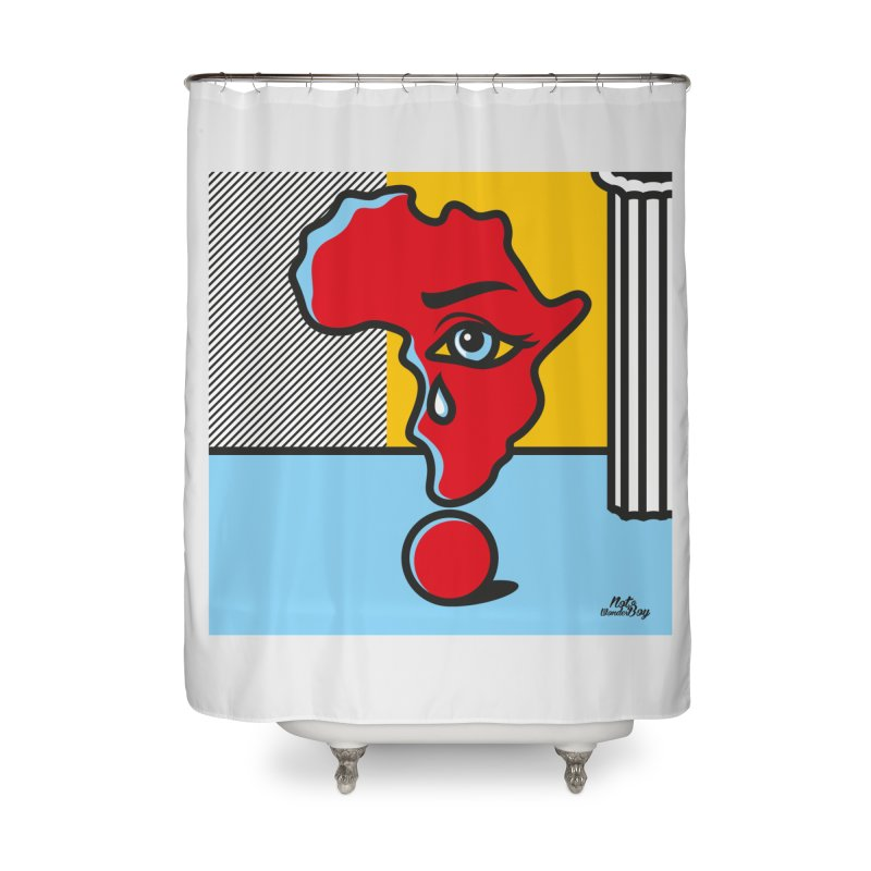 GIRL WITH TEARS XVIII Home Shower Curtain by Notawonderboy!