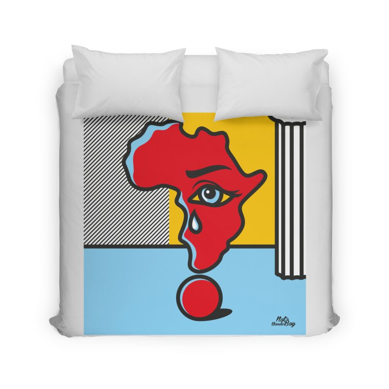 GIRL WITH TEARS XVIII Home Duvet by Notawonderboy!