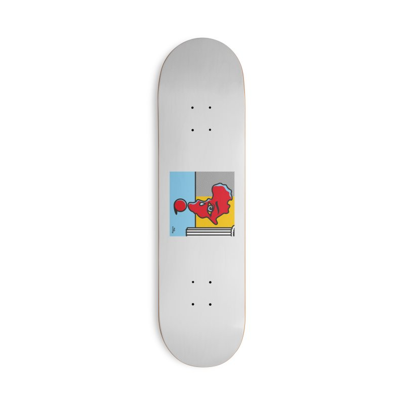 GIRL WITH TEARS XVIII Accessories Deck Only Skateboard by Notawonderboy!